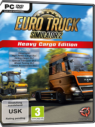 Euro Truck Simulator 2 - Heavy Cargo Edition Screenshot