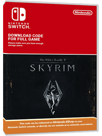 The Elder Scrolls V Skyrim - Nintendo Switch Download Code Screenshot