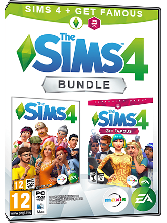 Los Sims 4 + ¡Rumbo a la Fama! Bundle (juego original + extension) Screenshot