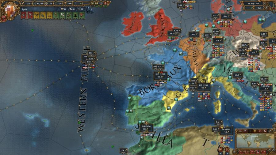 Europa Universalis IV - Wealth of Nations (extensión) Screenshot 6