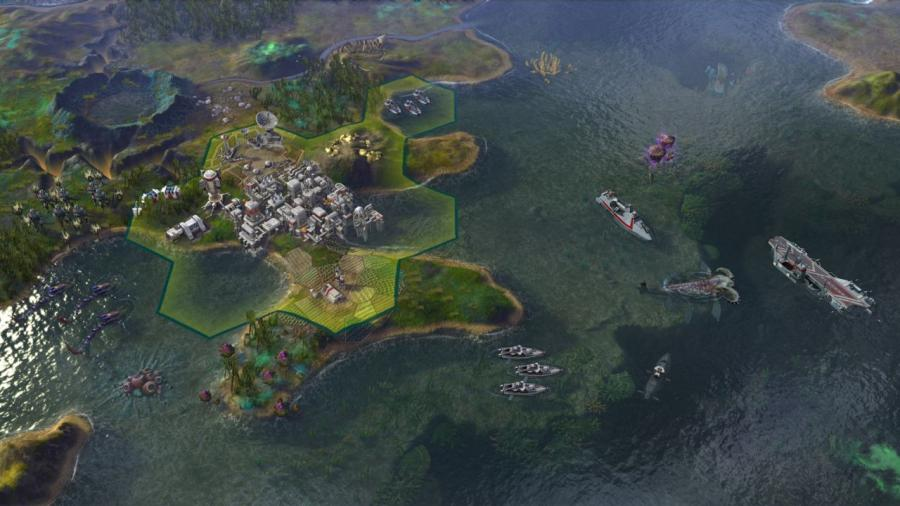 Civilization Beyond Earth - Rising Tide (extensión) Screenshot 3
