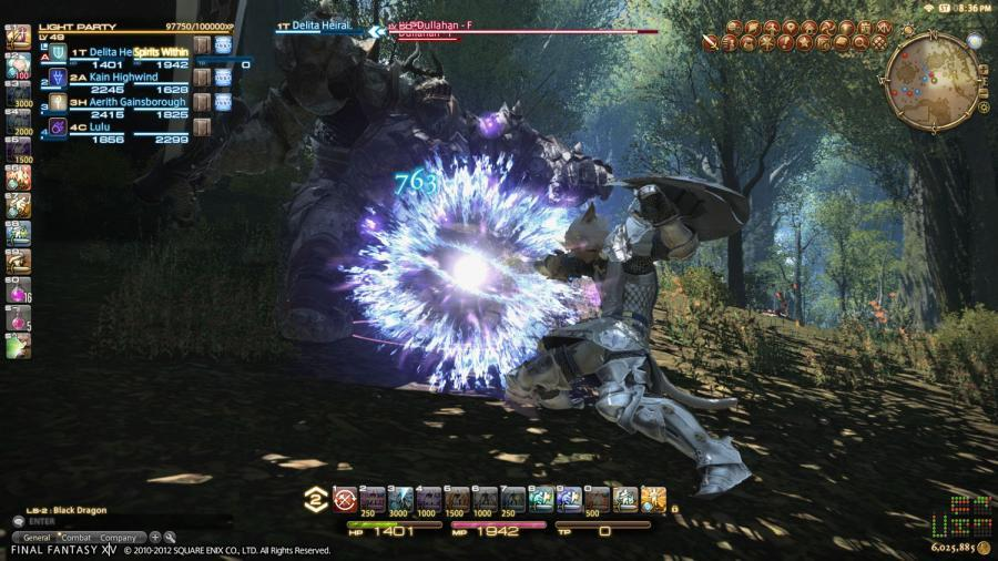 Final Fantasy XIV A Realm Reborn + Heavensward Addon Screenshot 3