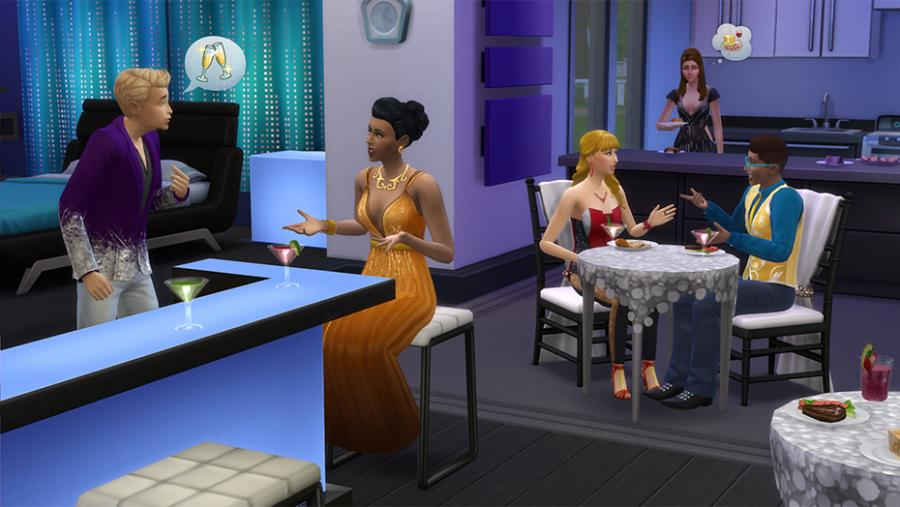Los Sims 4 - Día de Spa + Fiesta Glamurosa Pack de Accesorios + Patio de Ensueño Pack de Accesorios Bundle Screenshot 4