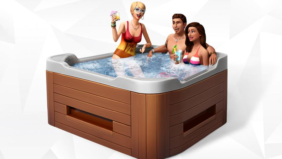 Los Sims 4 - Día de Spa + Fiesta Glamurosa Pack de Accesorios + Patio de Ensueño Pack de Accesorios Bundle Screenshot 9