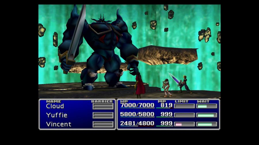 Final Fantasy VII / Final Fantasy VIII - Double Pack Screenshot 2