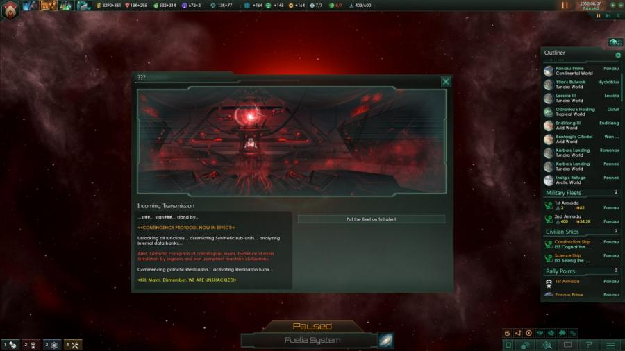 Stellaris - Synthetic Dawn Story Pack (DLC) Screenshot 4