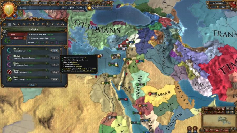 Europa Universalis IV - Cradle of Civilization (DLC) Screenshot 3