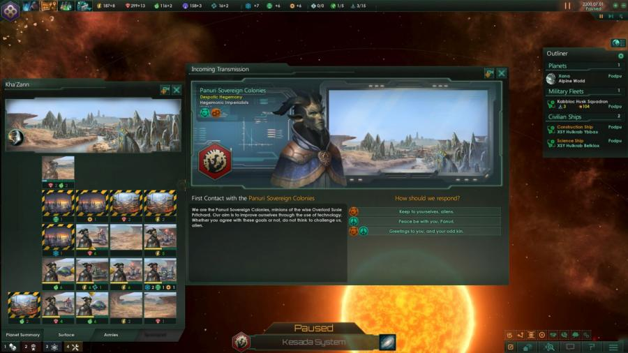 Stellaris - Humanoids Species Pack (DLC) Screenshot 2