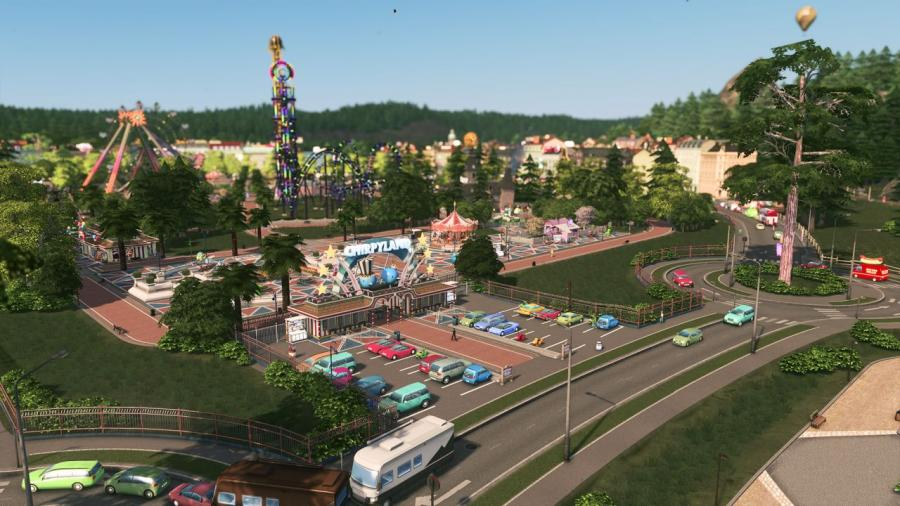 Cities Skylines - Parklife (DLC) Screenshot 4