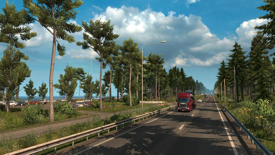 Euro Truck Simulator 2 - Beyond the Baltic Sea (DLC) - EU Key Screenshot 5
