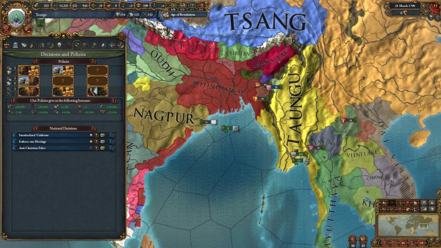 Europa Universalis IV - Dharma Collection Screenshot 6