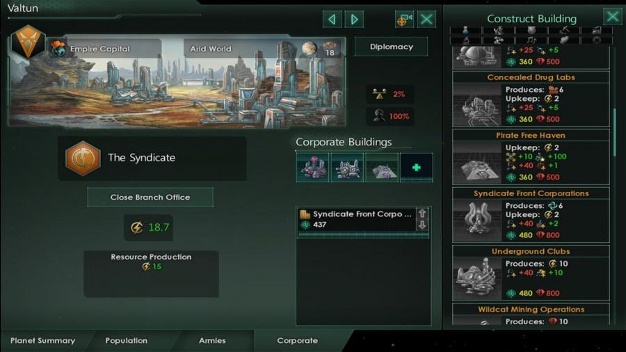 Stellaris - MegaCorp (DLC) Screenshot 7