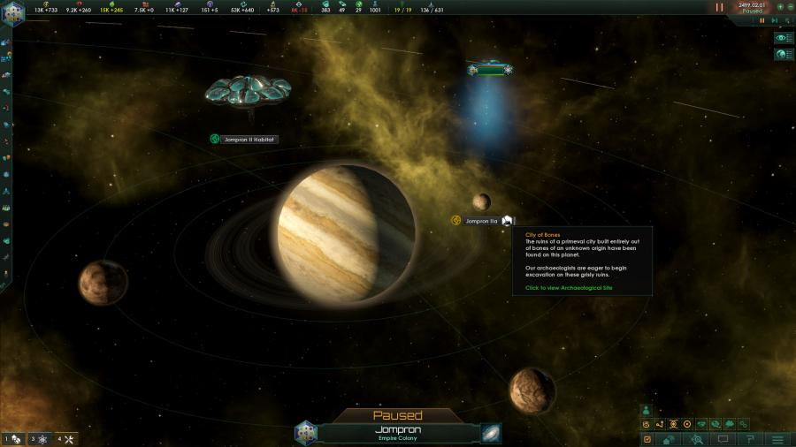 Stellaris Ancient Relics Story Pack (DLC) Screenshot 2