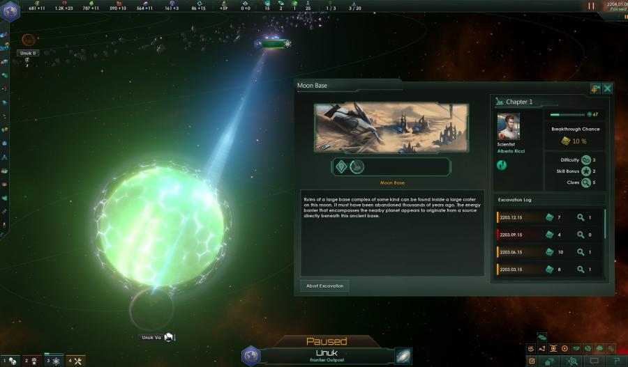 Stellaris Ancient Relics Story Pack (DLC) Screenshot 6