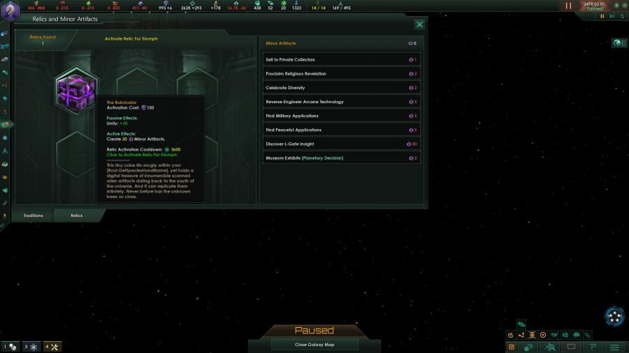 Stellaris Ancient Relics Story Pack (DLC) Screenshot 3