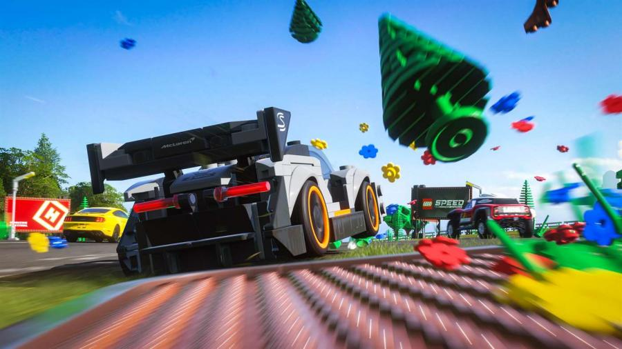 Forza Horizon 4 - LEGO Speed Champions DLC (Xbox One / Windows 10) Screenshot 5