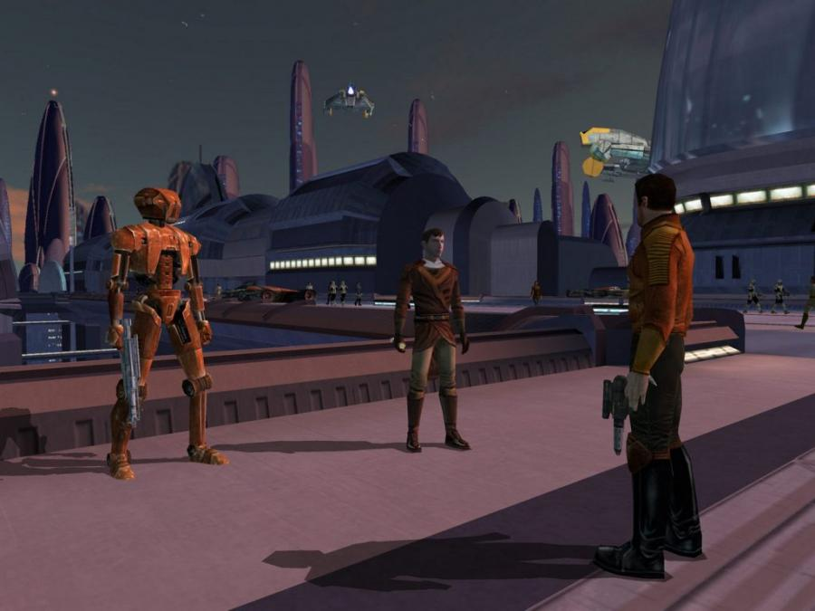 Star Wars - Knights of the Old Republic Screenshot 6